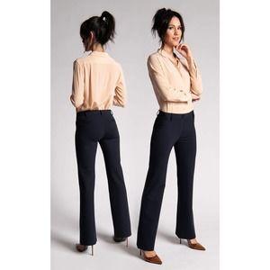 Betabrand Boot-Cut Classic Dress Pants Yoga Pants